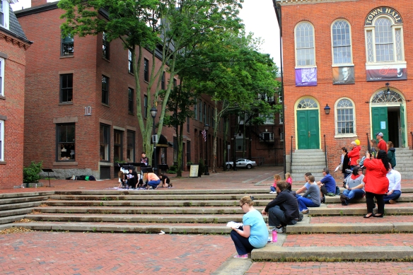 Derby Square provides the perfect stage: Salem's central Public Space hosts stories about the city's more marginalized public spaces