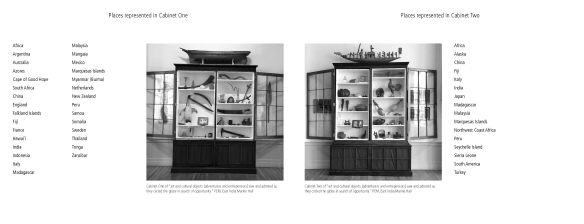 PEM East India Marine Hall Cabinets